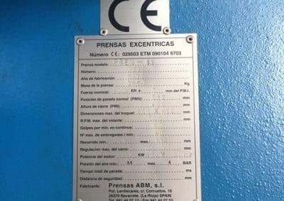 Prensa Amb 80 Tn