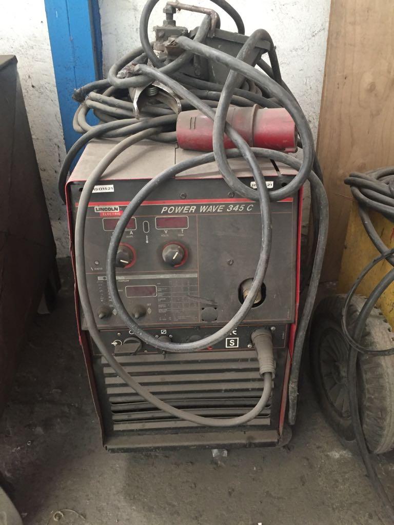 Maquina de Soldar Mod. Power Wave 345C