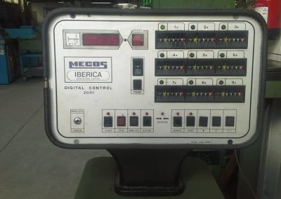Plegadora Mebusa 2500x40Tn